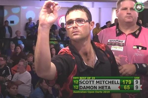 Darts Western Australia – Damon Heta wins inaugural Australian Open